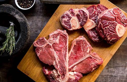 Grassfed beef, T-bone, steak, beef