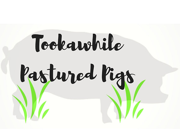10kg Tooka-While Pastured Pork Pack