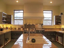A Photo of the Commercial Kitchen at Well Being Retreat Center