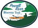 Logo of the Powell River Blueway Trail