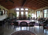 The Meeting Room at the Main Retreat Building at Well Being Retreat Center in Tazewell, TN