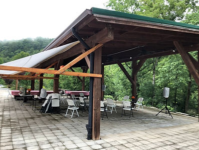 Powell River Pavilion at Well Being Retreat Center in Tazewell, TN