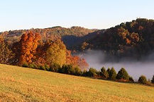 Well Being Retreat Center in brilliant Fall Colors