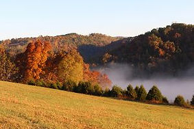 Photo of Autumn Colors at Well Being Retreat Center