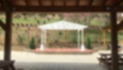 Wedding Gazebo at Well Being Retreat Center in Tazewell, TN