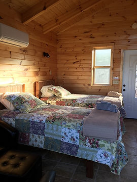 Photo of the Interior of the Tiny Houses at Well Being Retreat Center