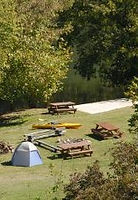 Photo of Campground at Well Being Retreat Center on the Powell River
