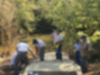 Photo of Steps at Powell River Preserve access