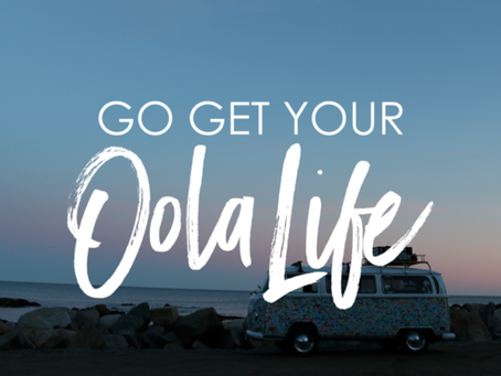 Together We Can Change the World with One Word: #Oola