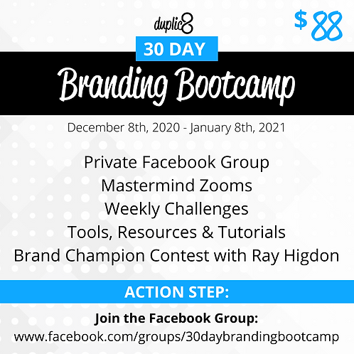 30 Day Branding Bootcamp