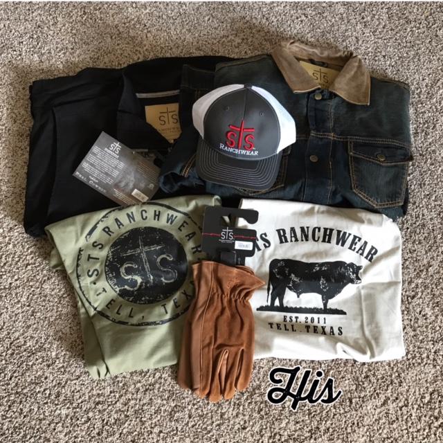 His STS Ranchwear