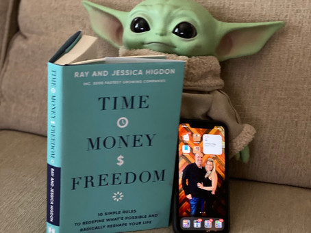 Does Baby Yoda need more Time, Money & Freedom?