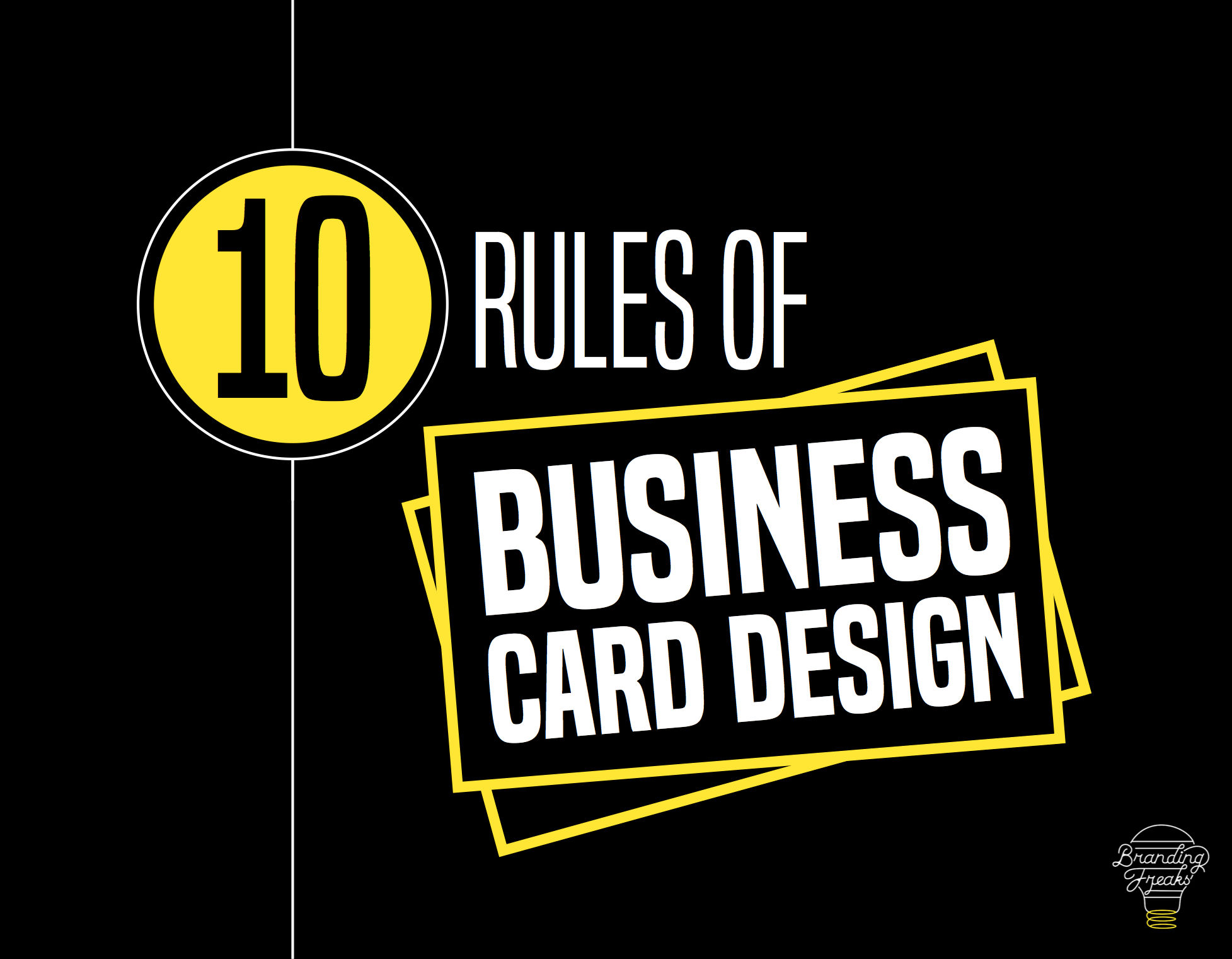 10 Rules of Business Card Design
