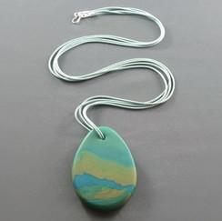 Long Paddle Pendant Necklaces