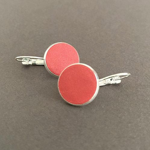 Sunset Red Drop Earrings | SaltSpray Jewellery