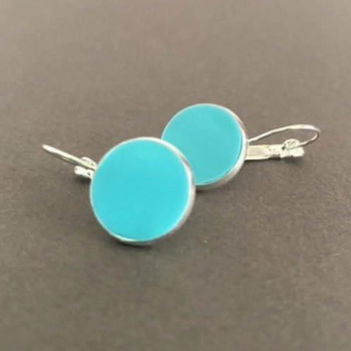 TurquoiseBlue Drop Earrings   Salt Spray Jewellery