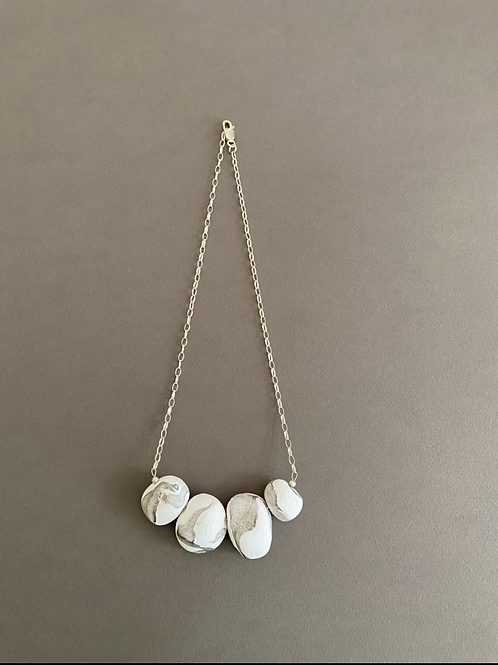 Sterling Silver Pebble Necklace | Salt Spray Jewellery