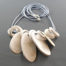 Long White Beach Necklace