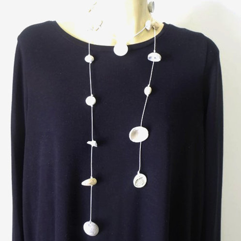 Long Wrap Necklace no.8