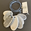 Thumbnail: Long Grey/White Ocean Necklace no.21