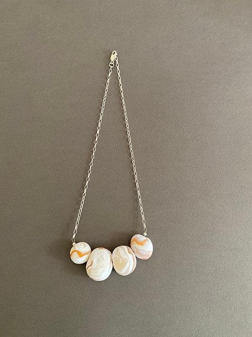 Sterling Silver Pebble Necklace | Salt Spray Jewellery