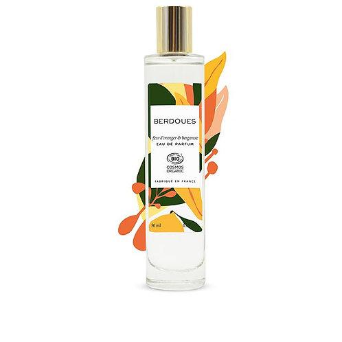 Eau de parfum Fleur d'oranger & Bergamote 50 mL
