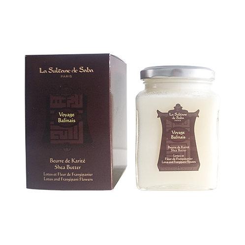 Beurre de karité Voyage Balinais 300g