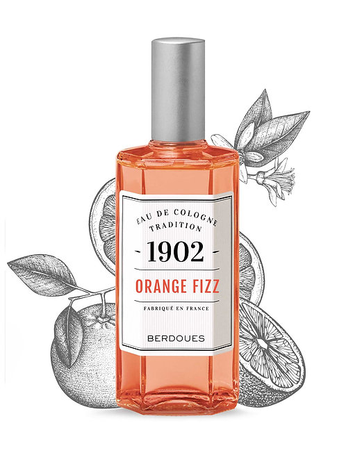 Eau de cologne Orange Fizz 125ml