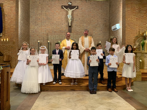 First Communion at SPP!