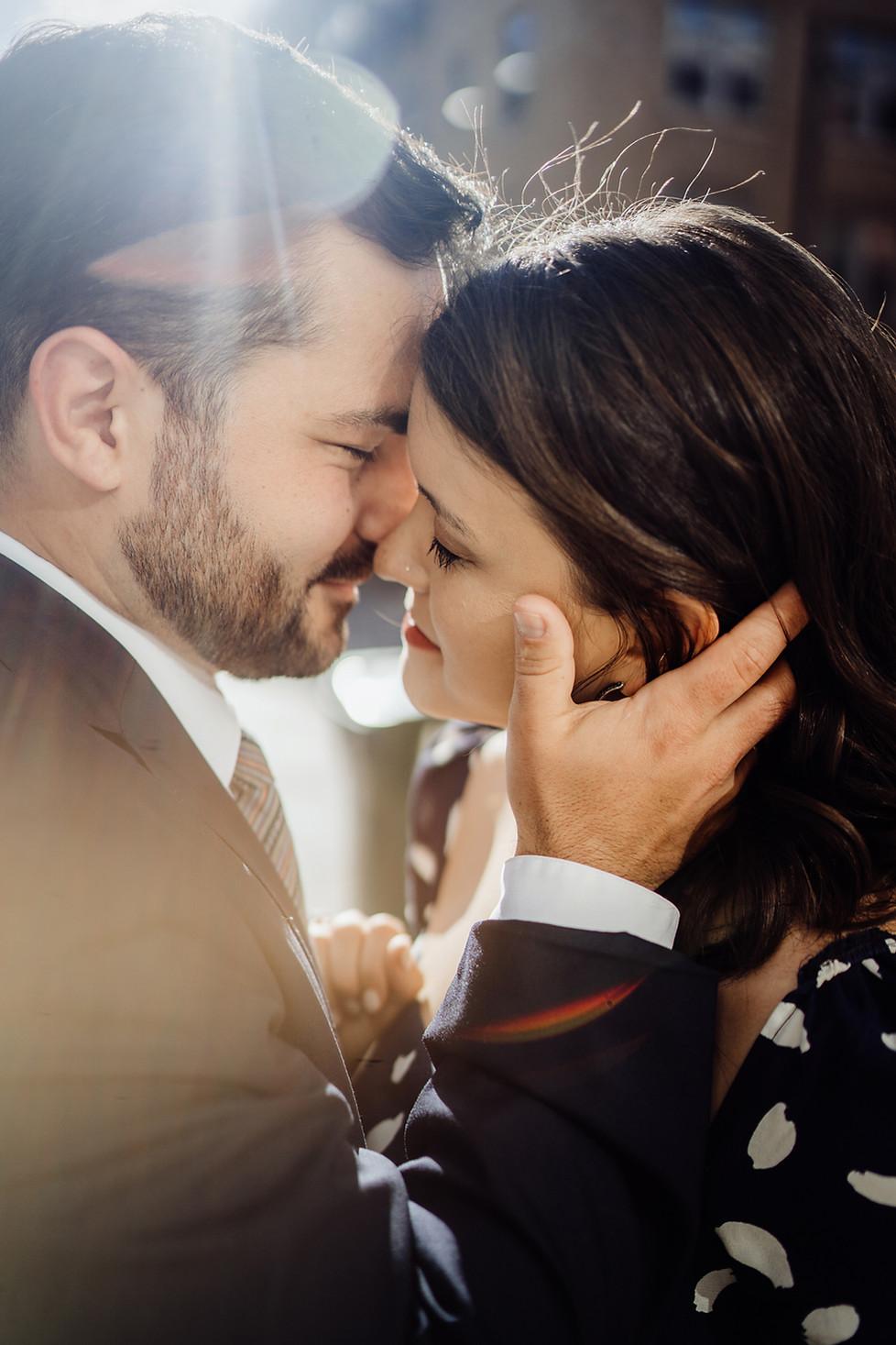 Lucas and Julia || Engagement session, OTR Cincinnati