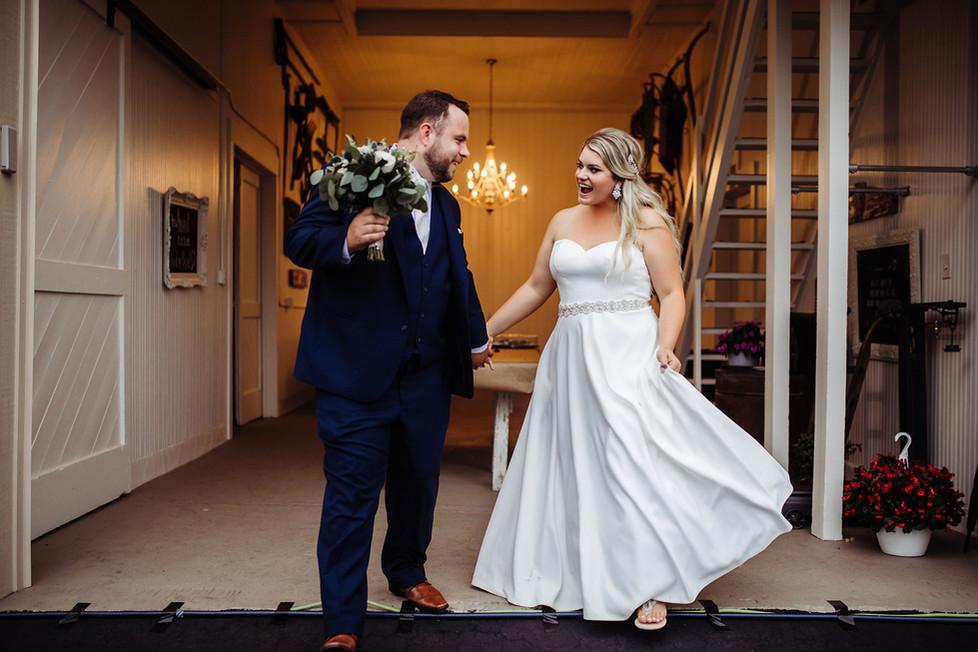 Tom + BreeAnna || Wedding at the barn, Brookville,  Ohio