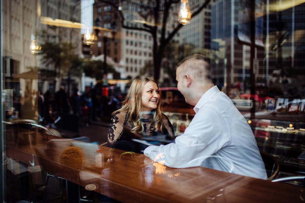 Patrick + Kayla || Engagement session, Indiana