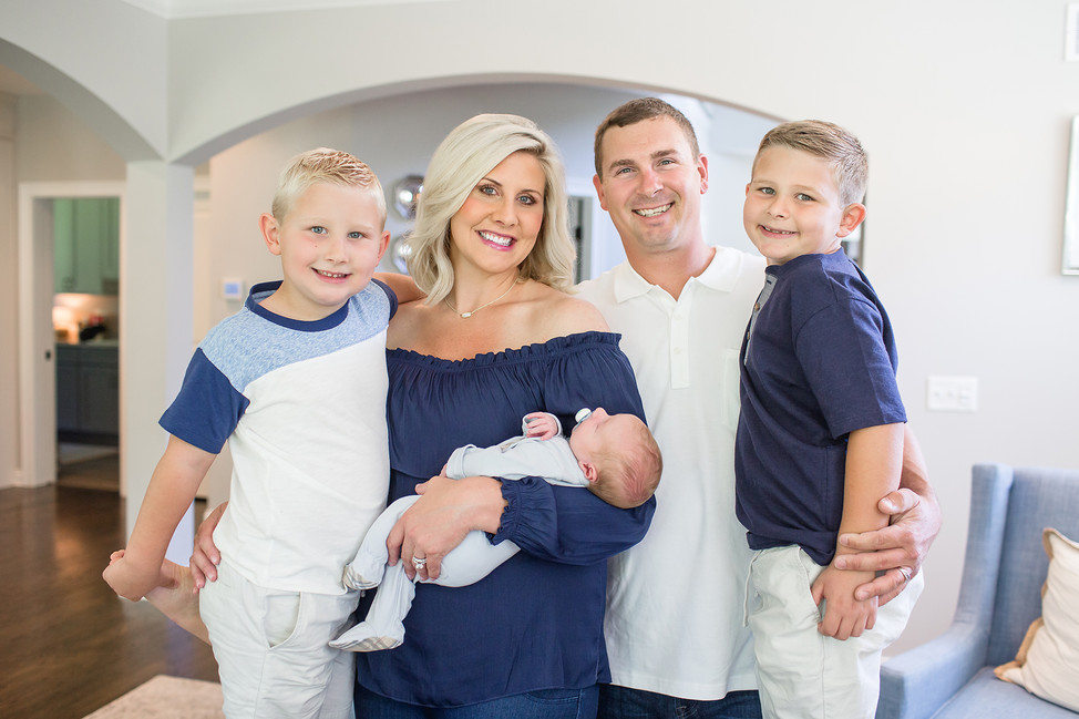 Baby Blake || Lifestyle newborn session, Cincinnnati