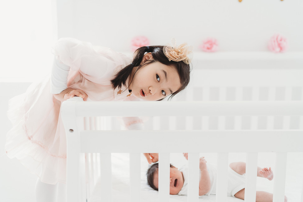 Ok Family, Lifestyle newborn session || Blue Ash, Cincinnati