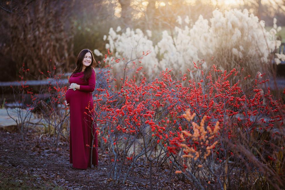 Maternity session || Cox Arboretrum