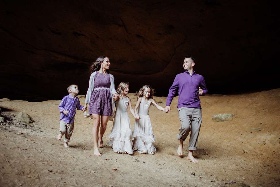 Dandrea Family || Hocking Hills, State Park