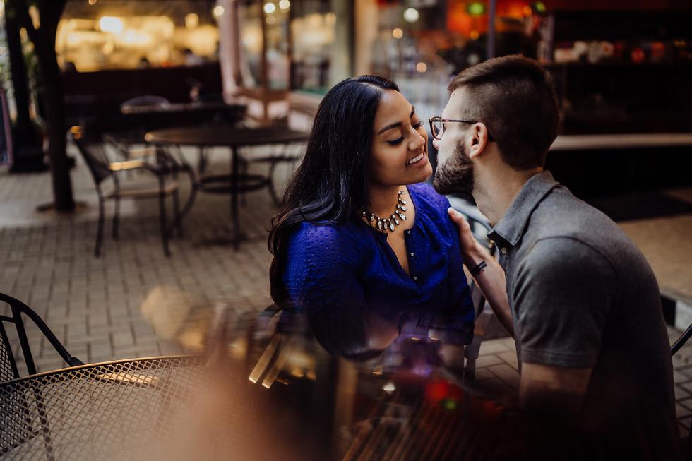 Chris + Shaila || E-session, Loveland, OH