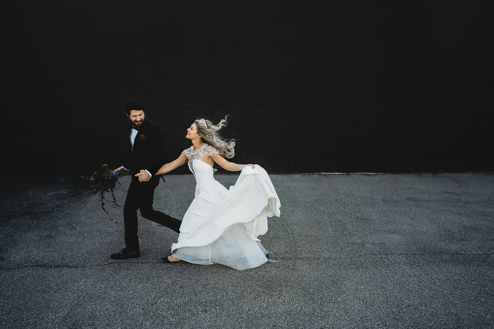 Levy + Kelsie || Steam Plant Wedding, Dayton