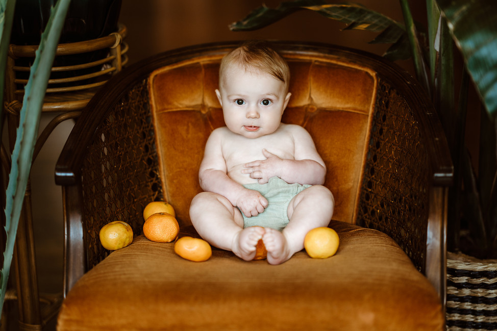 Baby Mason 6 months old session || Milestone, Tupelo House Loveland