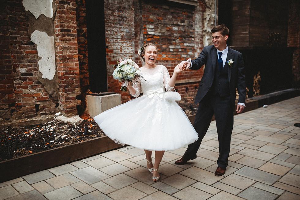 Zak + Jane || The small intimate wedding, Hotel Covington, Cincinnati