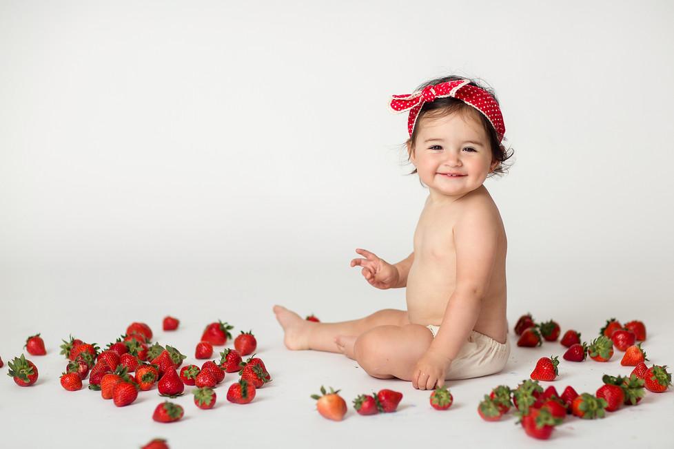 Baby Sofia turned one    Milestone session, Cincinnati