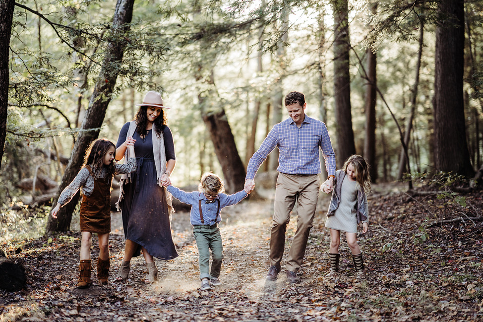Erhart Family Session || Hocking Hills, OH