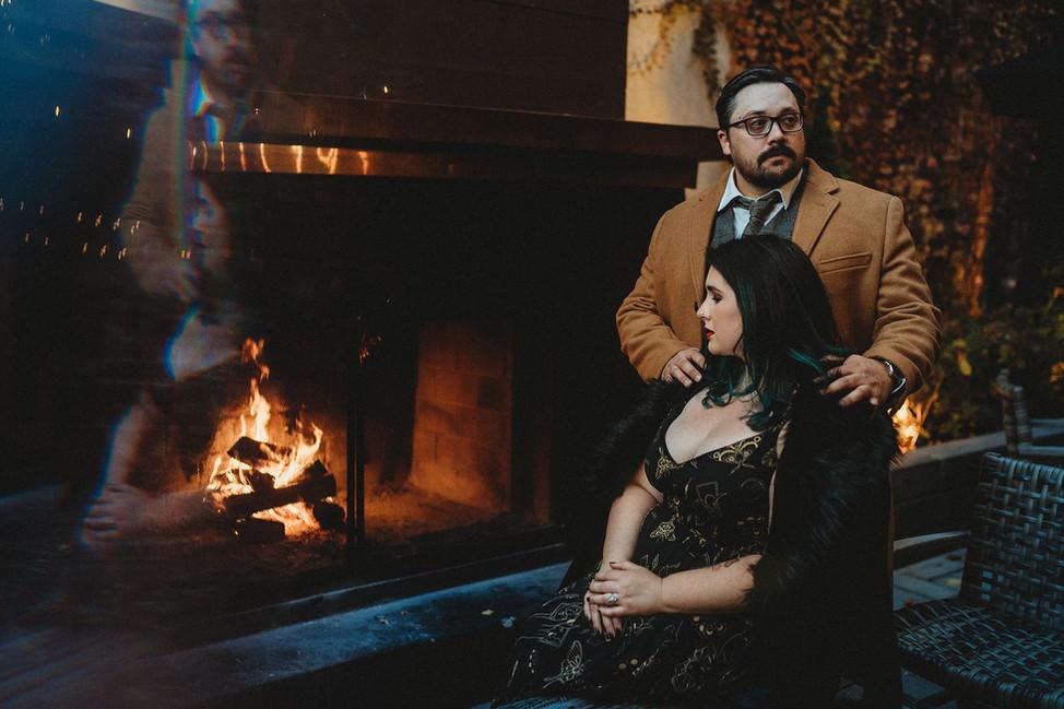 Christopher + Keely, Engagement session || Hotel Covington, Cincinnati