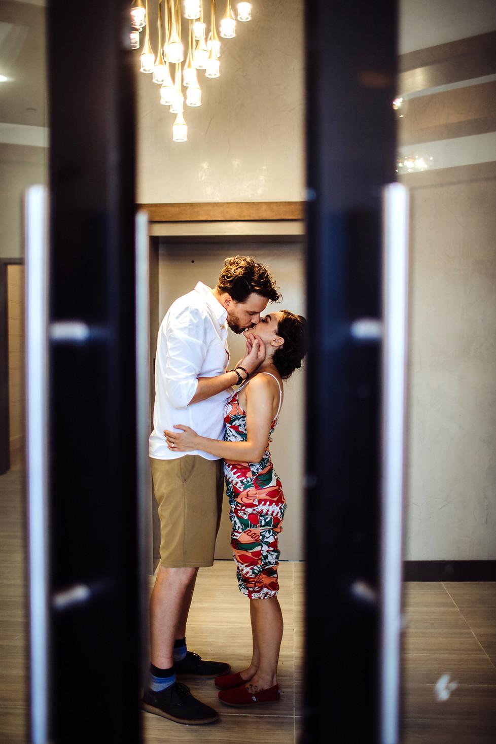 George + Anastasiya || Engagement, NYC