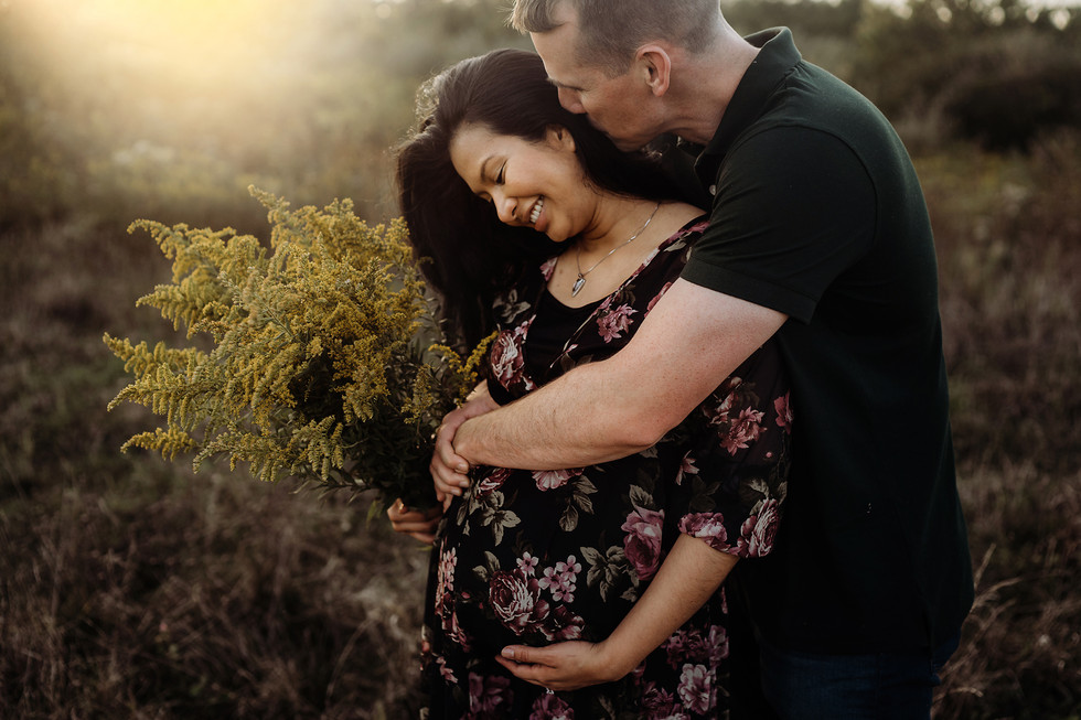 Dafne || Maternity session, Rentschler forest