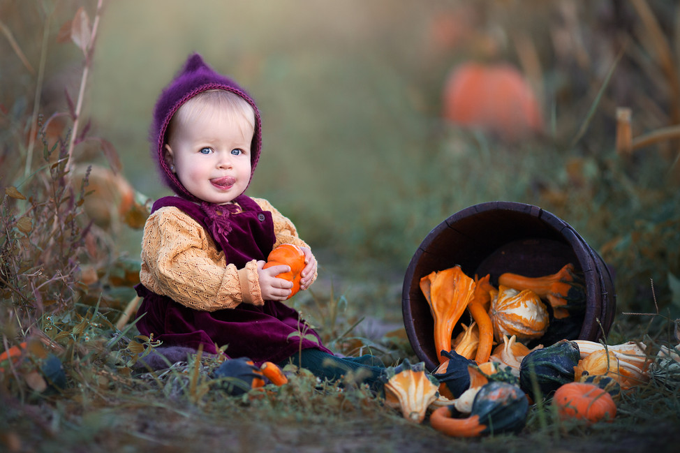 This little pumpkin turned one