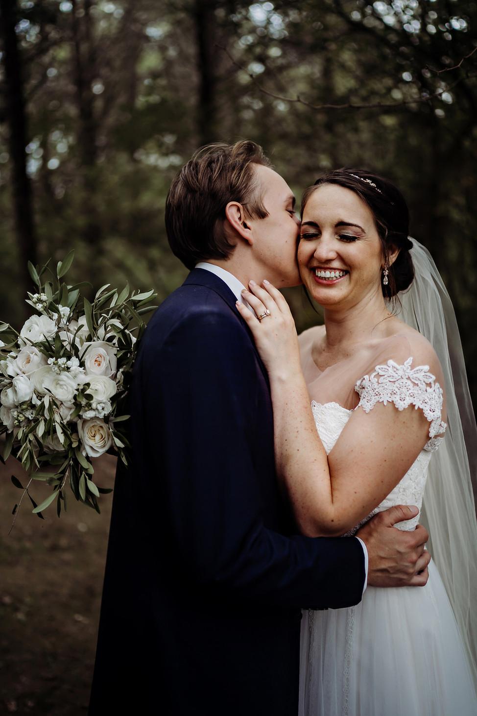 Travis + Paige    Wedding at Cedar Spring Pavilion