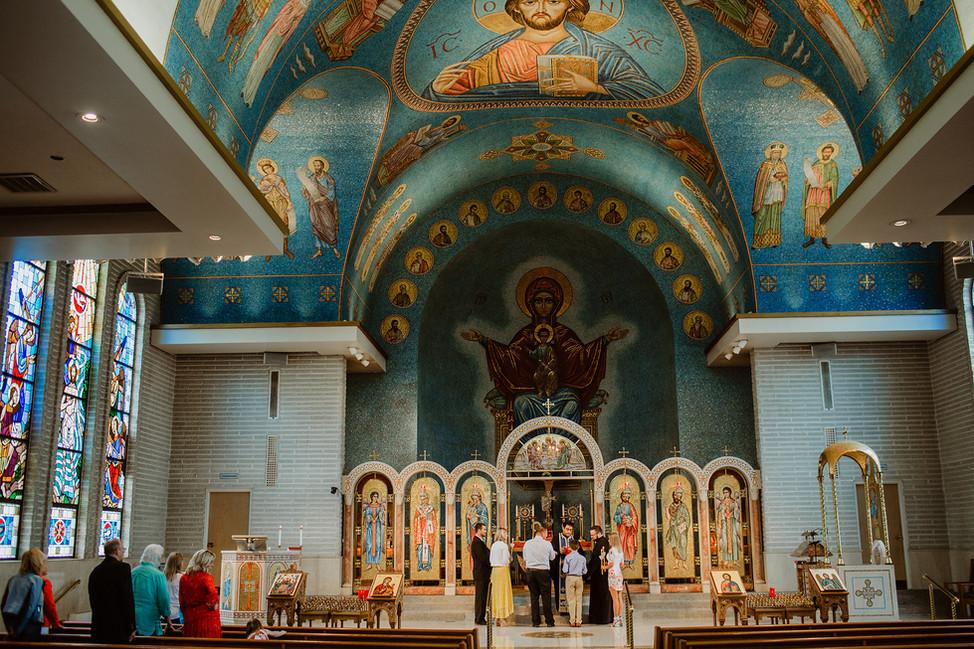 Baptism || St. Nicholas Greek Orthodox Church, Cincinnati