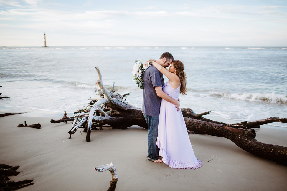 John + Tana || Vow renewal, Folly Beach, SC
