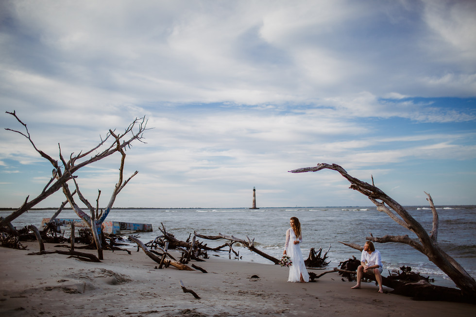 Ethan + Maddie || Folly Beach, South Carolilna